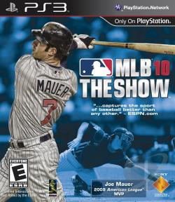 MLB 10: The Show PS3 Cover Art