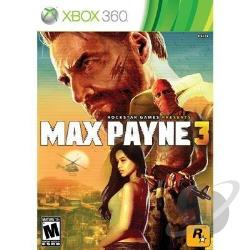 Max Payne 3 XB360 Cover Art