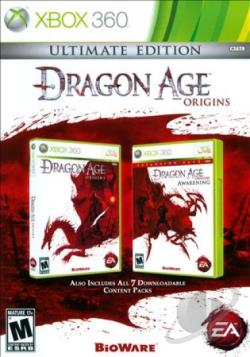Dragon Age: Origins XB360 Cover Art