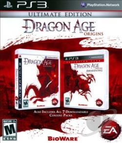 Dragon Age: Origins PS3 Cover Art