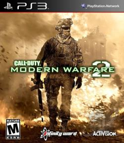 Call of Duty: Modern Warfare 2 PS3 Cover Art