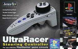 Psx Ultra Racer Hand-held Racing Wheel PS Cover Art