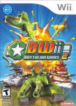 Battalion Wars 2 WII Cover Art