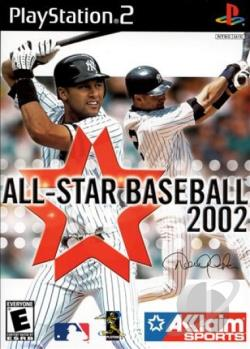 All-Star Baseball 2002 PS2 Cover Art