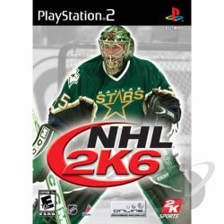 NHL 2K6 PS2 Cover Art
