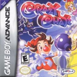 Crazy Chase GBA Cover Art