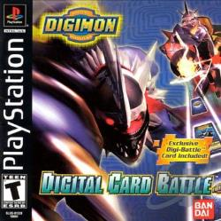 Digimon Digital Card Battle PS Cover Art