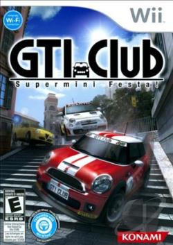 GTI Club: Supermini Festa! WII Cover Art