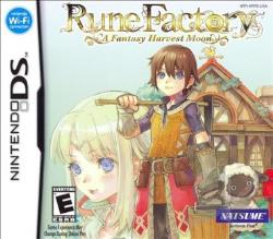 Rune Factory: A Fantasy Harvest Moon NDS Cover Art