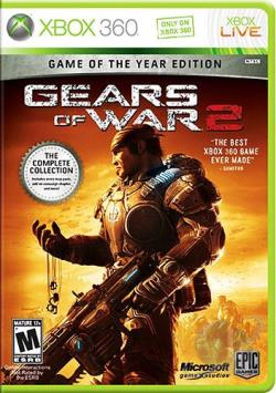 Gears of War 2: Game of the Year Edition XB360 Cover Art