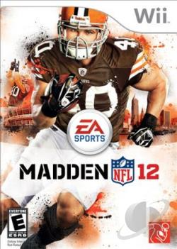 Madden NFL 12 WII Cover Art