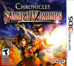 Samurai Warriors: Chronicles 3DS Cover Art