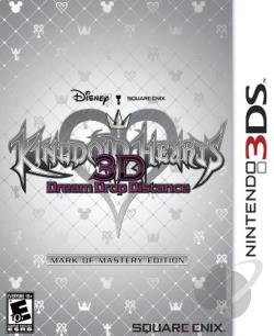 Kingdom Hearts 3D: Dream Drop Distance NDS Cover Art