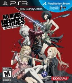 No More Heroes: Heroes' Paradise PS3 Cover Art