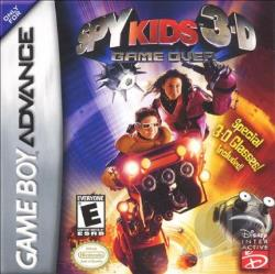 Spy Kids 3-D: Game Over GBA Cover Art