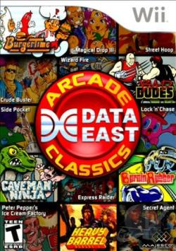 Data East Arcade Classics WII Cover Art