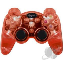 Wireless Lava Glow Controller (Red) PS3 Cover Art