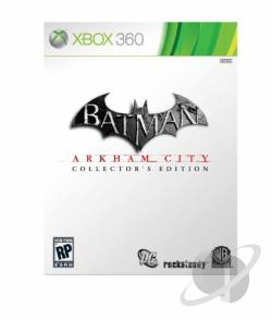 Batman: Arkham City XB360 Cover Art