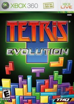 Tetris Evolution XB360 Cover Art
