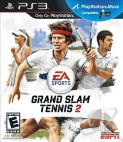 Grand Slam Tennis 2 PS3 Cover Art