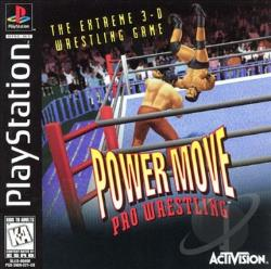 Power Move Pro Wrestling PS Cover Art