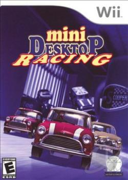 Mini Desktop Racing WII Cover Art