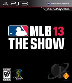 MLB 13: The Show PS3 Cover Art