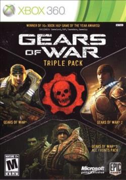 Gears of War Triple Pack XB360 Cover Art