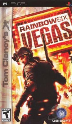 Tom Clancy's Rainbow Six: Vegas PSP Cover Art