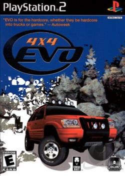4X4 Evo PS2 Cover Art