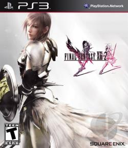 Final Fantasy XIII-2 PS3 Cover Art
