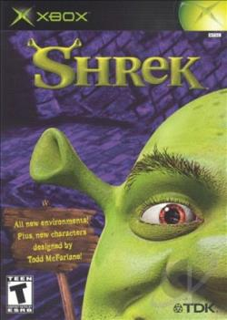 Shrek XB Cover Art