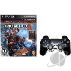 Wireless Cont & Uncharterd 2 : Game of the Year Edition PS3 Cover Art