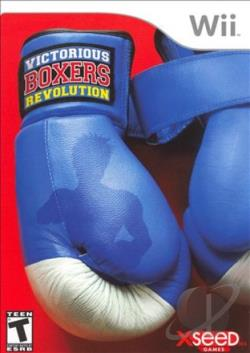 Victorious Boxers: Revolution WII Cover Art