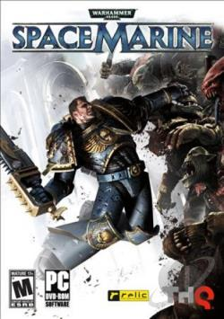 Warhammer 40,000: Space Marine PCG Cover Art