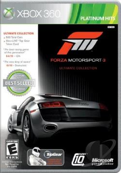 Forza Motorsport 3: Ultimate Collection XB360 Cover Art