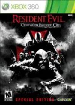 Resident Evil: Operation Raccoon City XB360 Cover Art