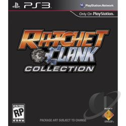Ratchet & Clank Collection PS3 Cover Art