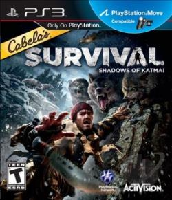 Cabela's Survival: Shadows of Katmai PS3 Cover Art