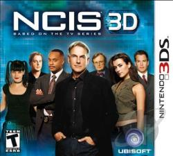 Ncis 3D 3DS Cover Art