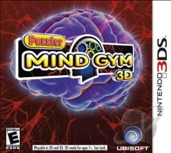 Puzzler Mind Gym 3D 3DS Cover Art