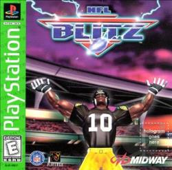 NFL Blitz PS Cover Art