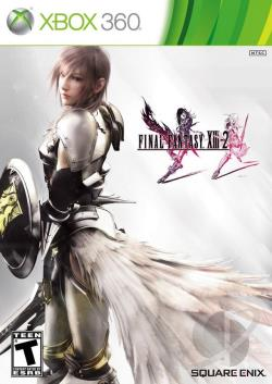 Final Fantasy XIII-2 XB360 Cover Art