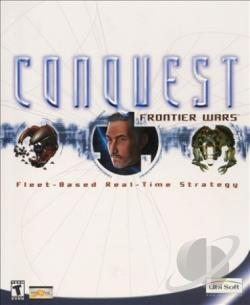 Conquest: Frontier Wars W95 Cover Art