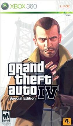 Grand Theft Auto IV XB360 Cover Art