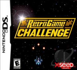Retro Game Challenge NDS Cover Art