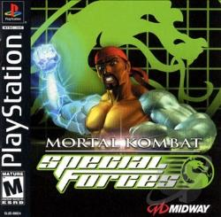 Mortal Kombat Special Forces PS Cover Art
