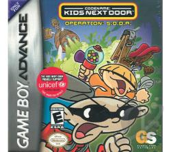 Codename: Kids Next Door GBA Cover Art