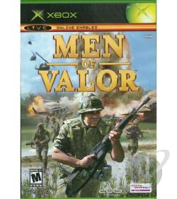 Men of Valor XB Cover Art