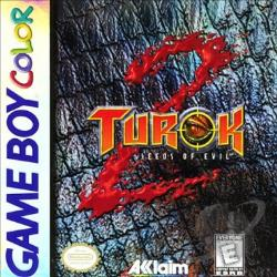 Turok 2: Seeds Of Evil GBA Cover Art